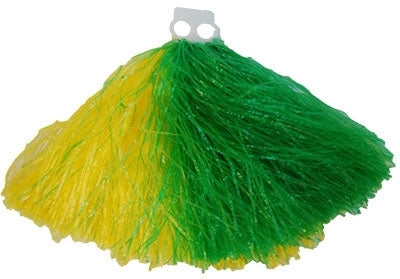 Pom Pom Green & Yellow - Party Savers