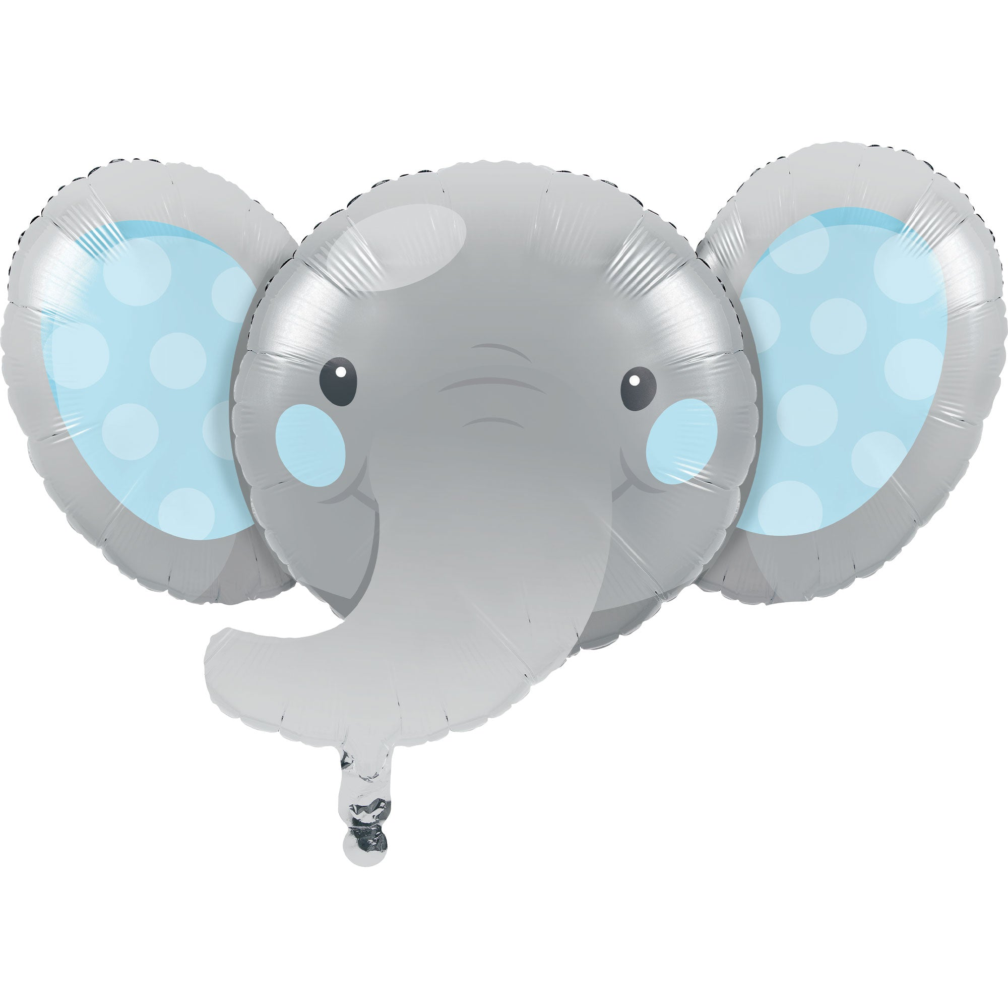 Enchanting Elephant Boy Shape 53cm x 89cm Foil Balloon - Party Savers