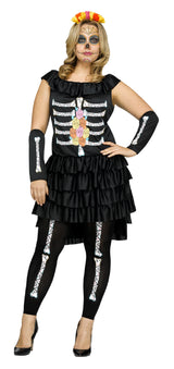 Womens Costume - Day Of the Dead - Party Savers