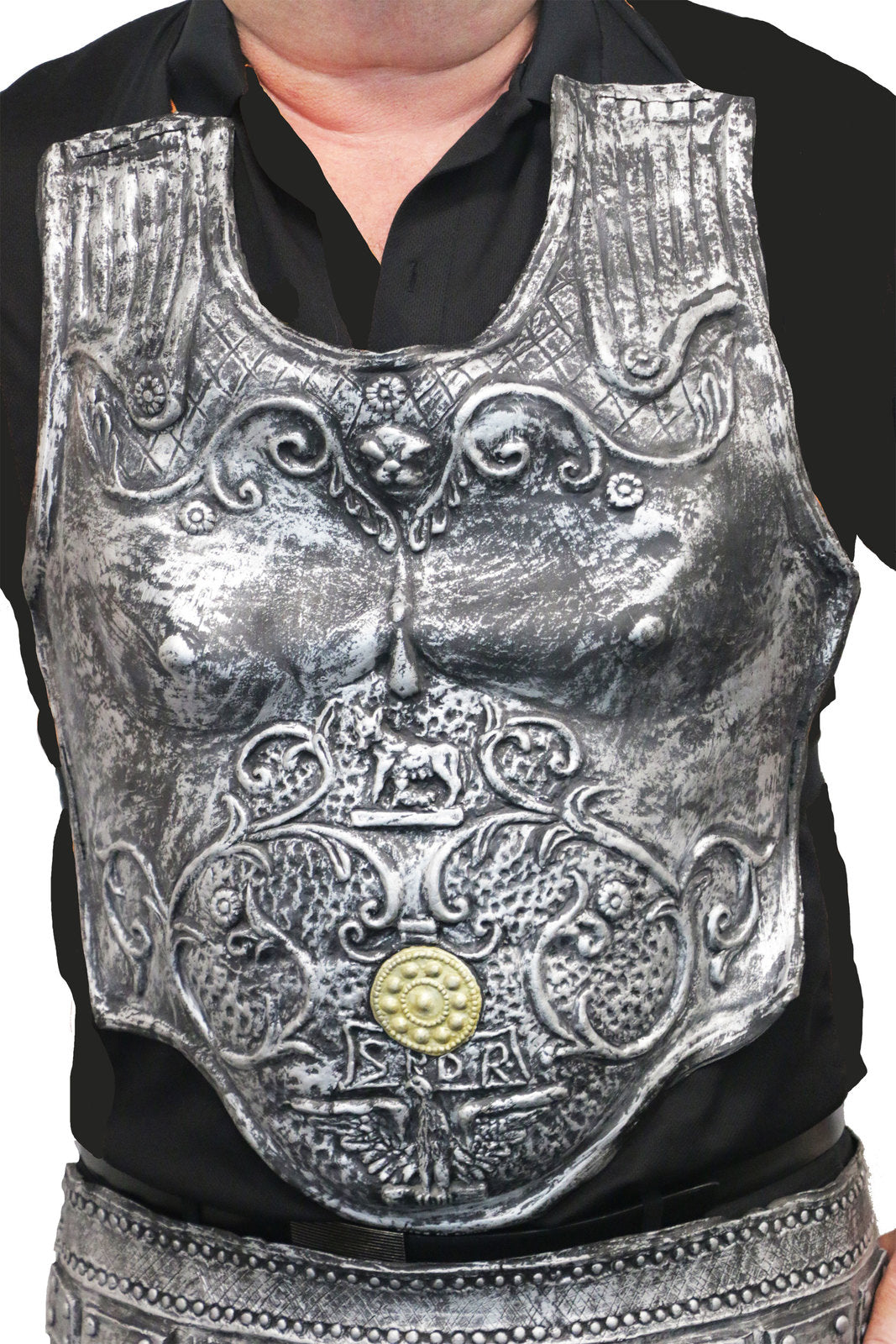 Roman Breast Plate Latex - Party Savers
