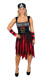 Womens Costume - Pirate Beauty - Party Savers