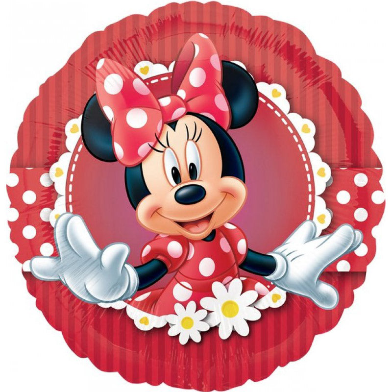 Minnie Mouse Mad about Minnie Foil Balloon 45cm - Party Savers