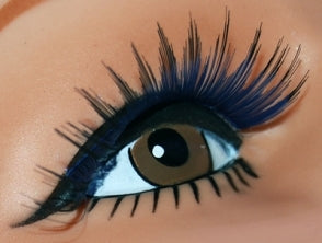 Blue Long Sweep Lashes