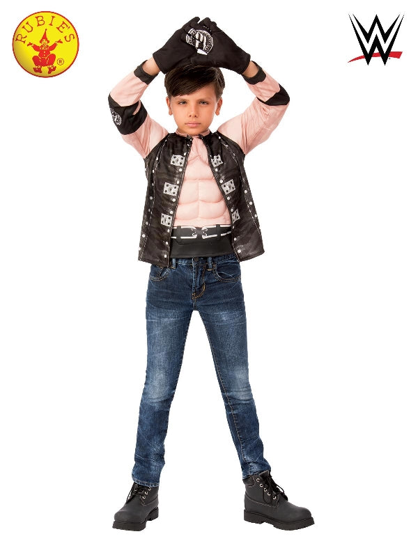 Boys Costume - Aj Styles Top And Gloves