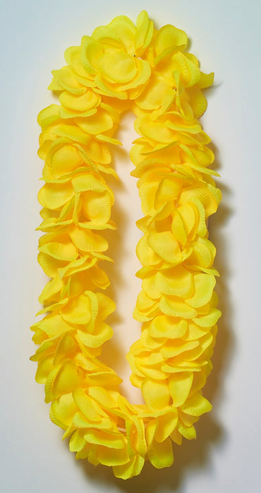 Yellow Super Deluxe Lei