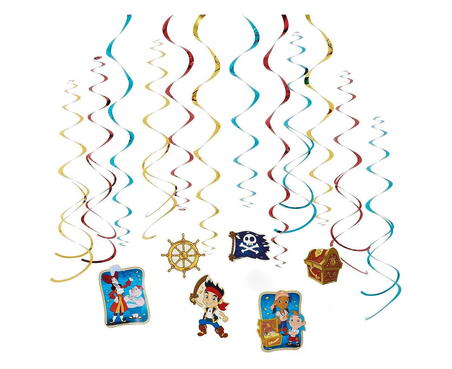 Jake and the Neverland Pirates Swirl Value Pack - Party Savers