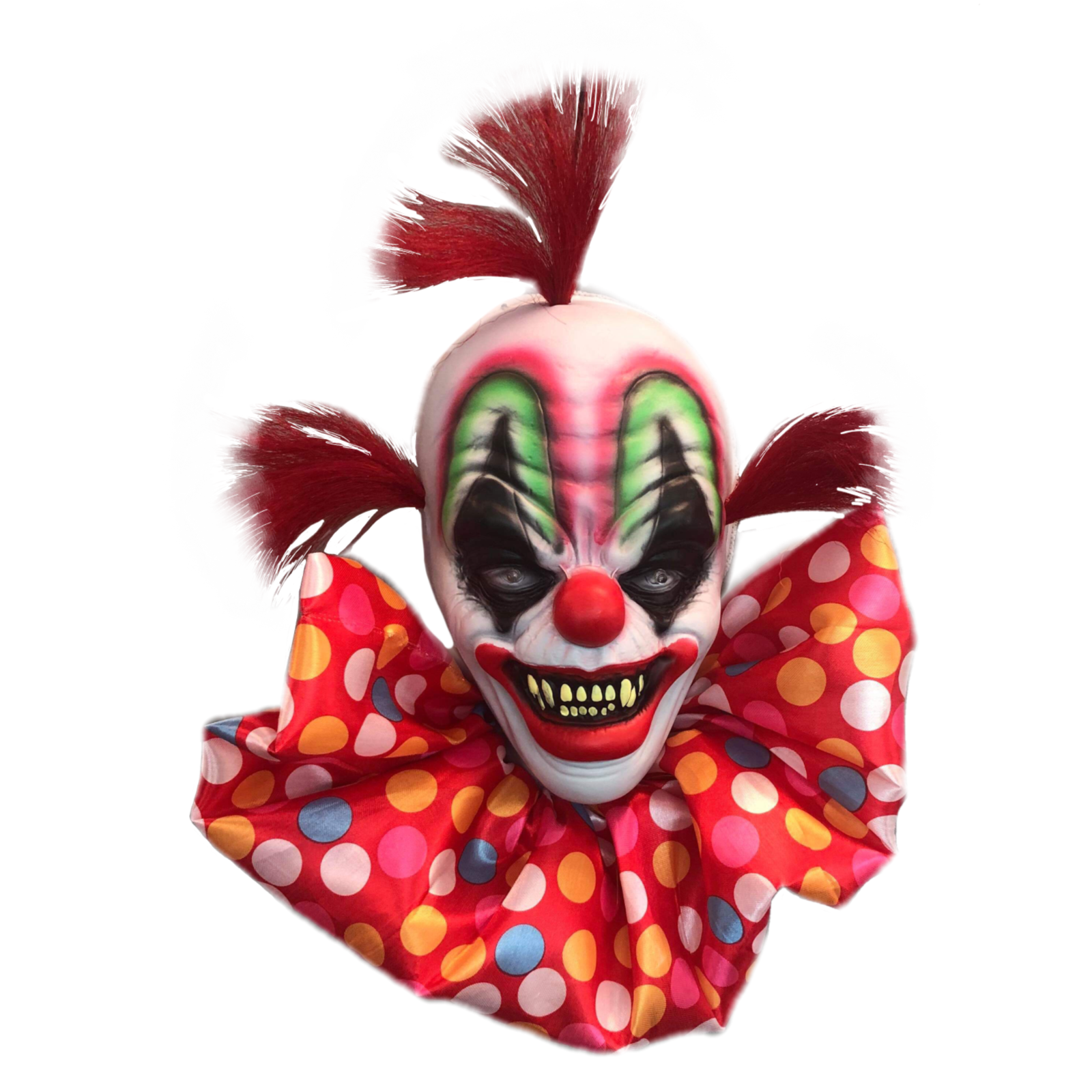 Small Hanging Clown Head - Party Savers