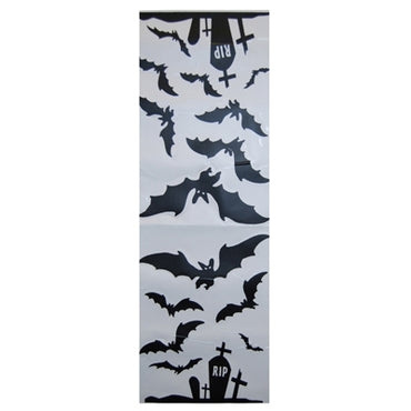 Halloween Wall Decals - Cemetery Bat- Cemetery Bat 2pk