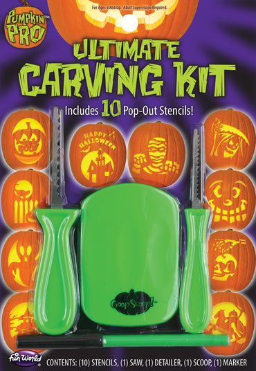 Ultimate Pumpkin Carving Kit - 14pc