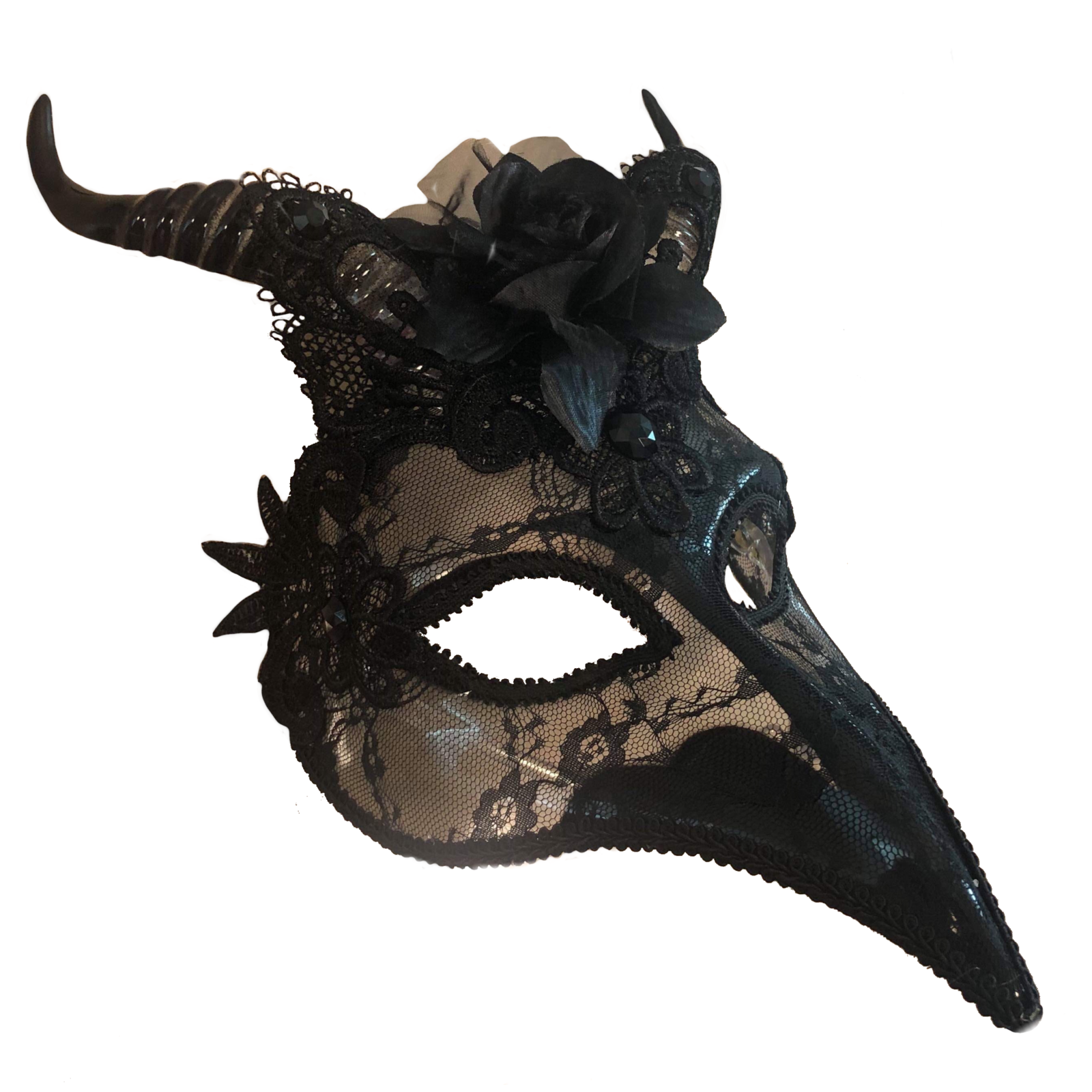 Lilith Victorian Mask