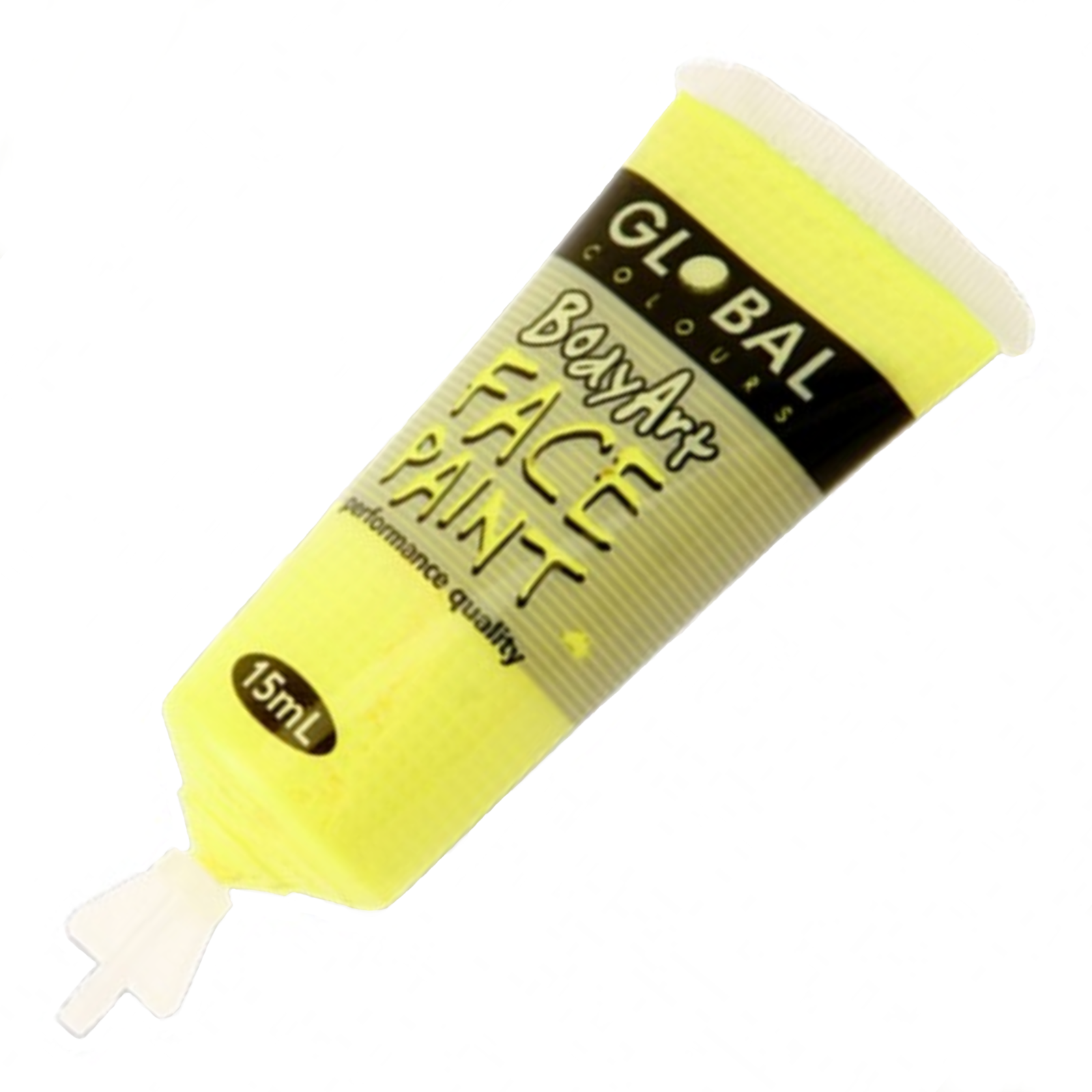 Body Art 15Ml Tube - Fluoro Yellow