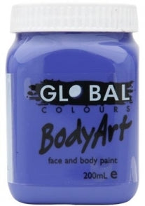 Purple Body Art 200ml Jar