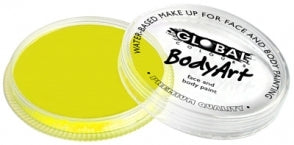 Yellow BodyArt Make Up 32g Fluro