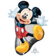 Mickey Full Body SuperShape Balloon 55cm x 78cm