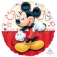 Mickey Portrait Foil Balloon 45cm - Party Savers