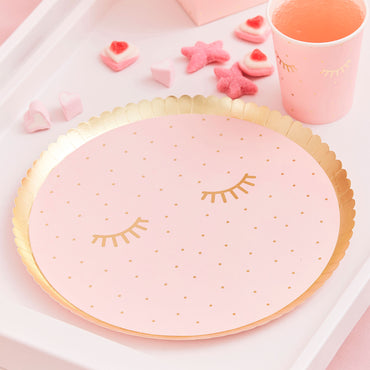 Pamper Party Paper Plates 21cm - Party Savers
