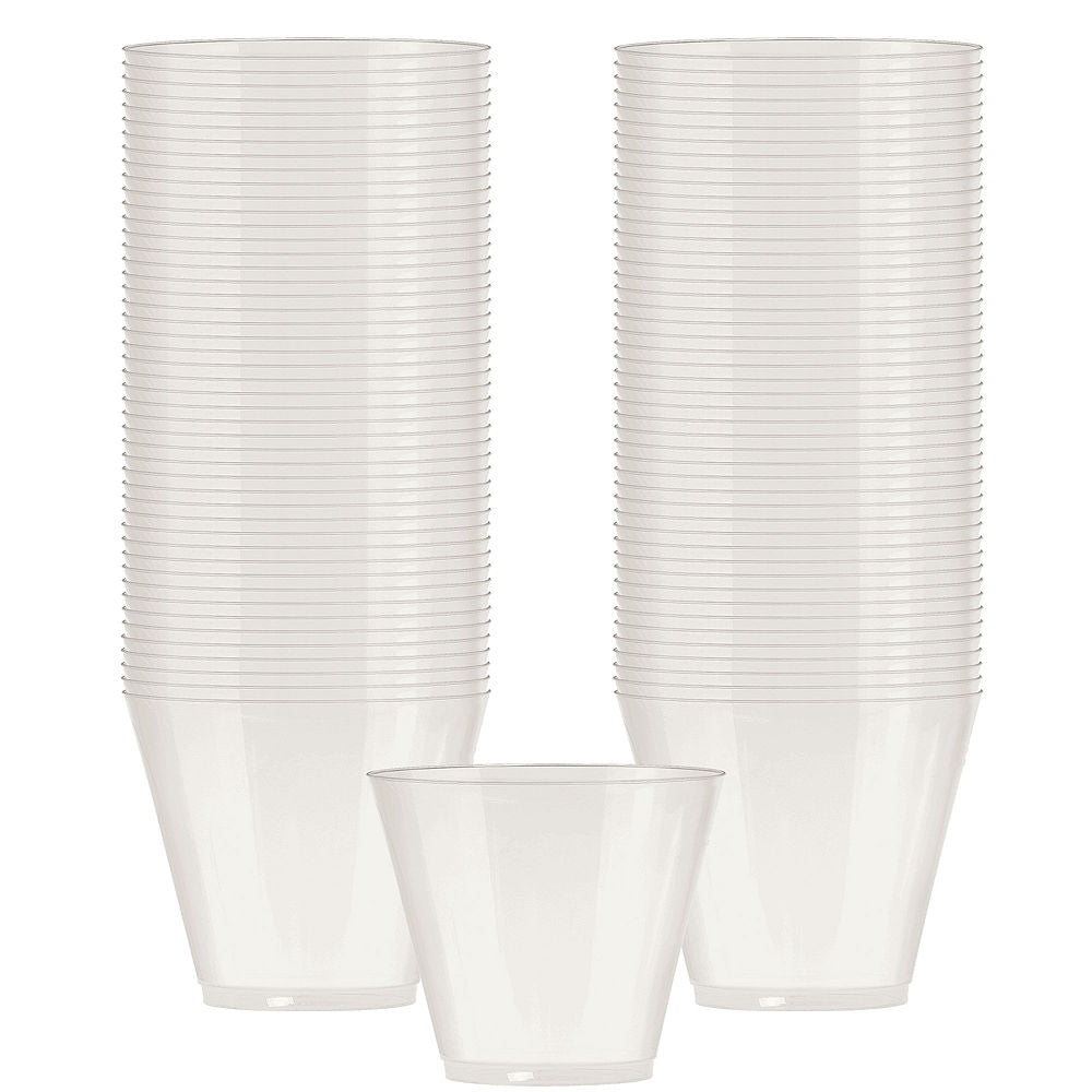 White Plastic Tumbler 266ml 72pk