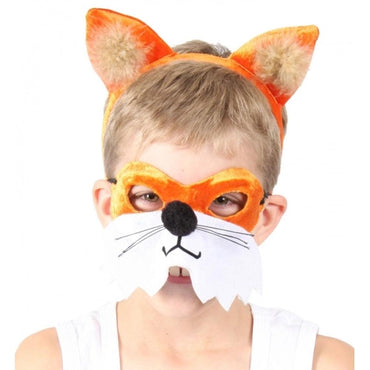 Animal Headband & Mask Kit - Fox