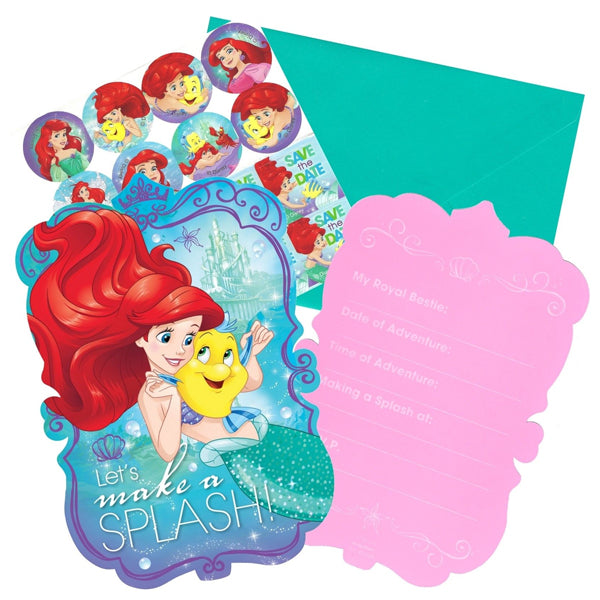 Ariel Dream Big Postcard Invitations 8pk