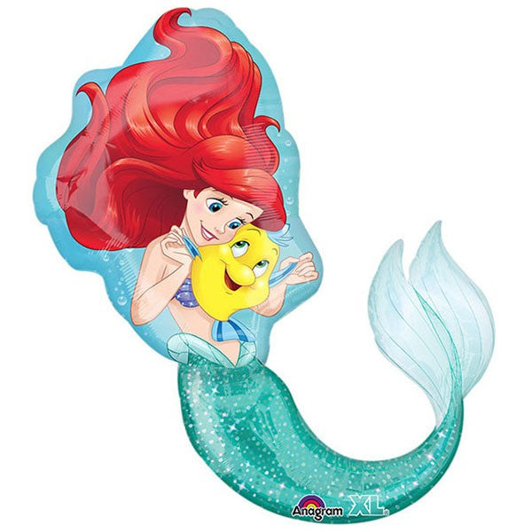 Ariel Dream Big  SuperShape Balloon 71cm x 86cm