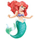 Ariel The Little Mermaid AirWalker Balloon 96cm x 134cm