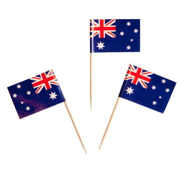 Flagpicks Australia 20pk