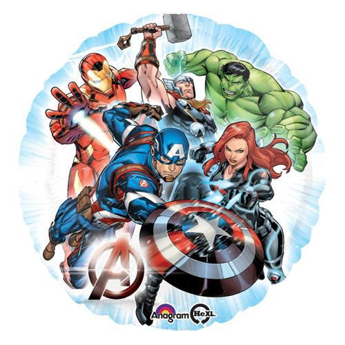 Avengers Group Foil Balloon 45cm - Party Savers