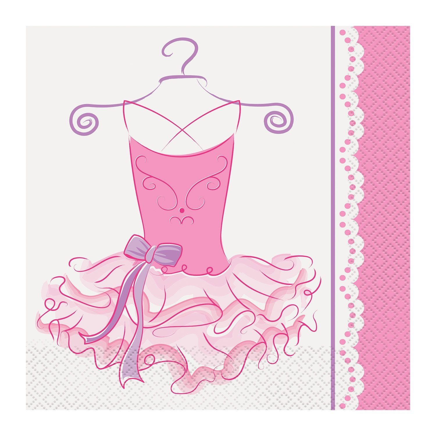 Ballerina Lunch Napkins 33cm 16pk