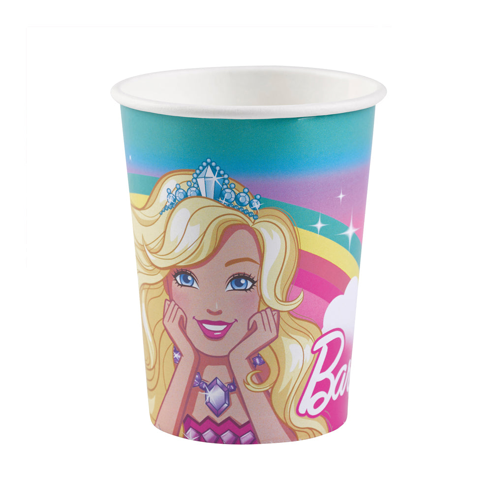 Barbie Dreamtopia Paper Cups 266ml 8pk