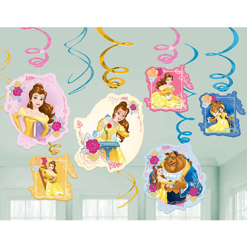 Beauty & The Beast Swirls Value Pack 12pk