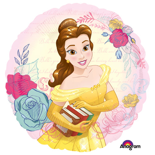 Beauty And The Beast Foil Balloon 45cm