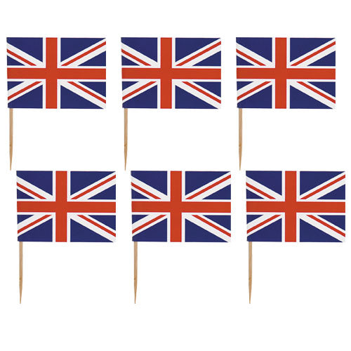 Flagpicks UK 500pk