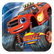 Blaze & The Monster Machines Square Plates 23cm 8pk