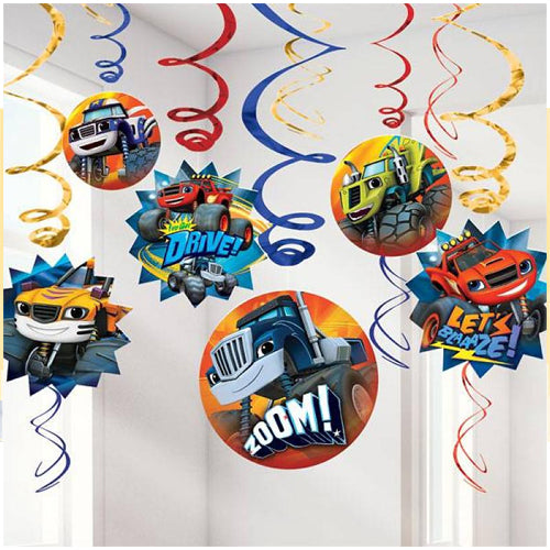 Blaze & The Monster Machines Swirls Value Pack12pk