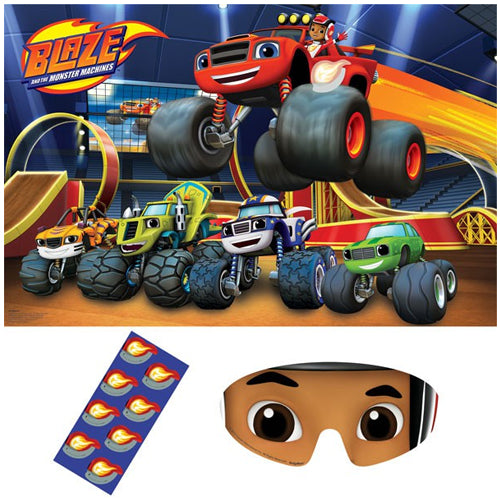 Blaze & The Monster Machines Party Game - Party Savers