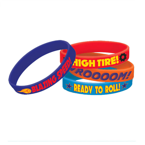 Blaze & The Monster Machines Rubber Bracelets 4pk - Party Savers