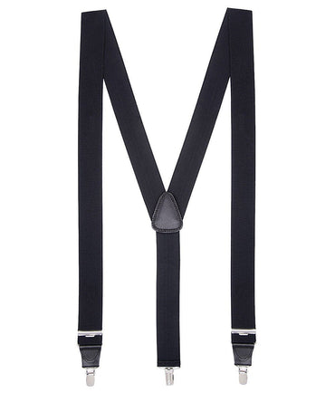 Black Stretch Braces/Suspenders