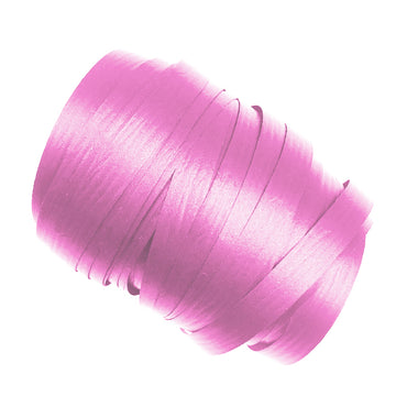 Bright Pink Precut Ribbon With Clips 1.75m 25pk