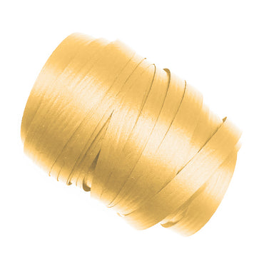 Gold Precut Ribbon With Clips 1.75m 25pk