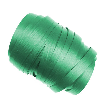 Green Precut Ribbon With Clips 1.75m 25pk