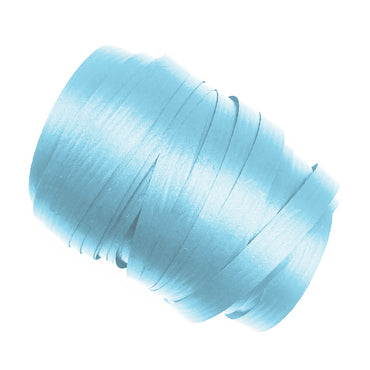 Pastel Blue Precut Ribbon With Clips 1.75m 25pk