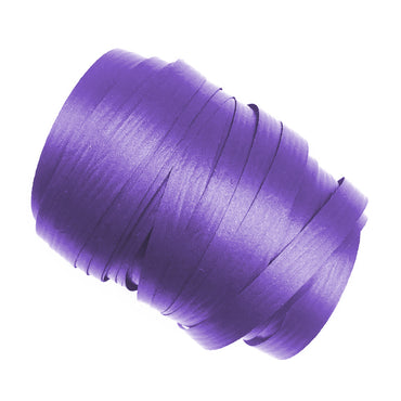 Purple Precut Ribbon With Clips 1.75m 25pk