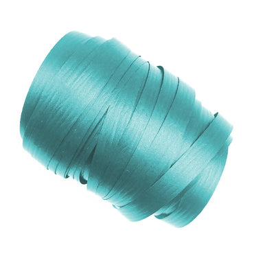 Teal Precut Ribbon With Clips 1.75m 25pk