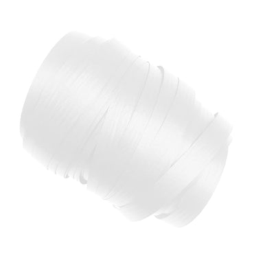 White Precut Ribbon With Clips 1.75m 25pk