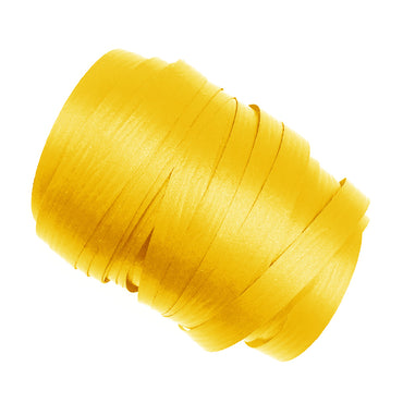Yellow Precut Ribbon With Clips 1.75m 25pk
