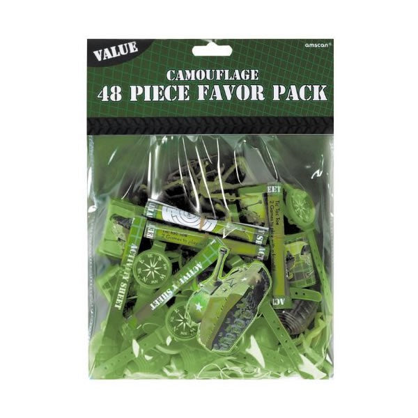 Camouflage Mega Mix Value Pack 48pk