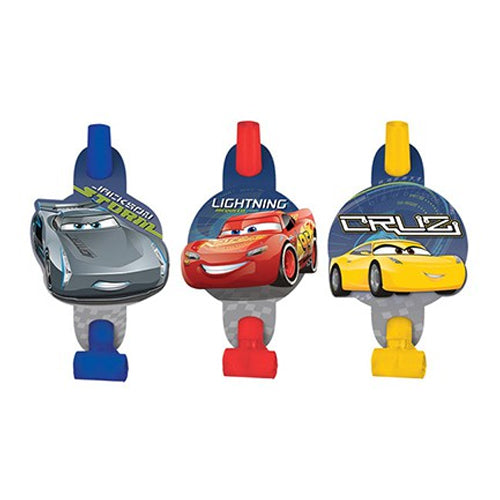 Cars 3 Blowouts 8pk - Party Savers