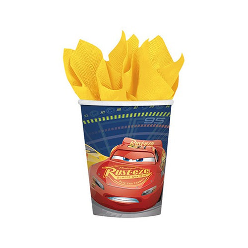 Cars 3 Cups 266ml 8pk