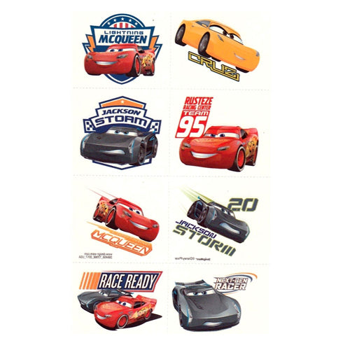 Cars 3 Tattoos 1Sheet