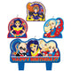 DC Super Hero Girls Birthday Candle Set 4pk